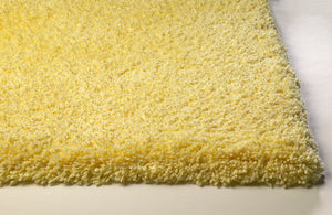 Kas Rugs Bliss 1574 Canary Yellow Shag Area Rug
