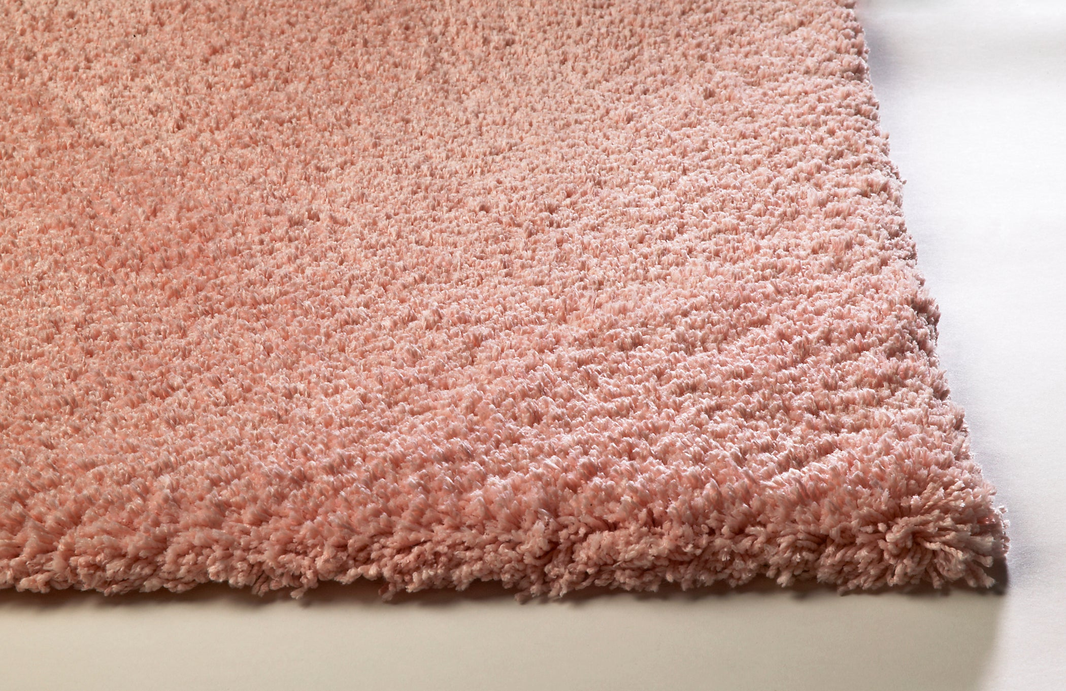 Kas Rugs Bliss 1575 Rose Pink Shag Area Rug