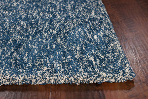 Kas Rugs Bliss 1589 Indigo/Ivory Heather Area Rug