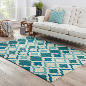 Jaipur Living Catalina CAT01 Blue Novelty Area Rug