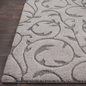 Surya Cut & Loop Shag Gray CLG-2312 Area Rug
