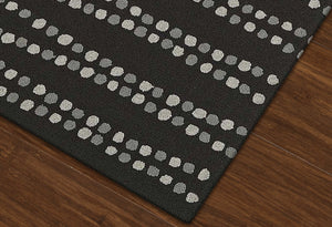 DALYN CABANA BLACK CN8 AREA RUG