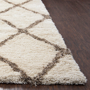 Rizzy Home Commons CO200A Ivory Solid Area Rug