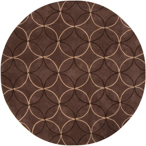 Surya Cosmopolitan COS8868 Brown Contemporary Area Rug