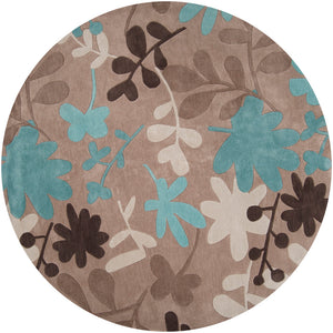 Surya Cosmopolitan COS8924 Brown/Blue Transitional Area Rug
