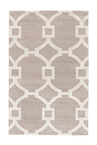 Jaipur Living City CT34 Gray/Silver Trellis/Chain/Tiles Area Rug