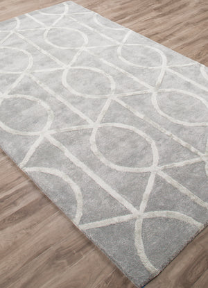 Jaipur Living City CT69 Blue Trellis/Chain/Tiles Area Rug