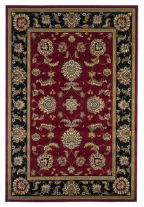 Kas Rugs Cambridge 7342 Red/Black Bijar Area Rug