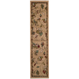 Oriental Weavers Emerson Gold/Brown Floral 1994A Area Rug