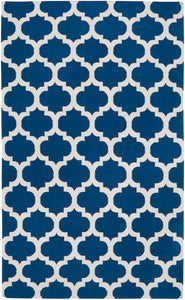 Surya Frontier FT84 Blue/Neutral Flatweave Area Rug