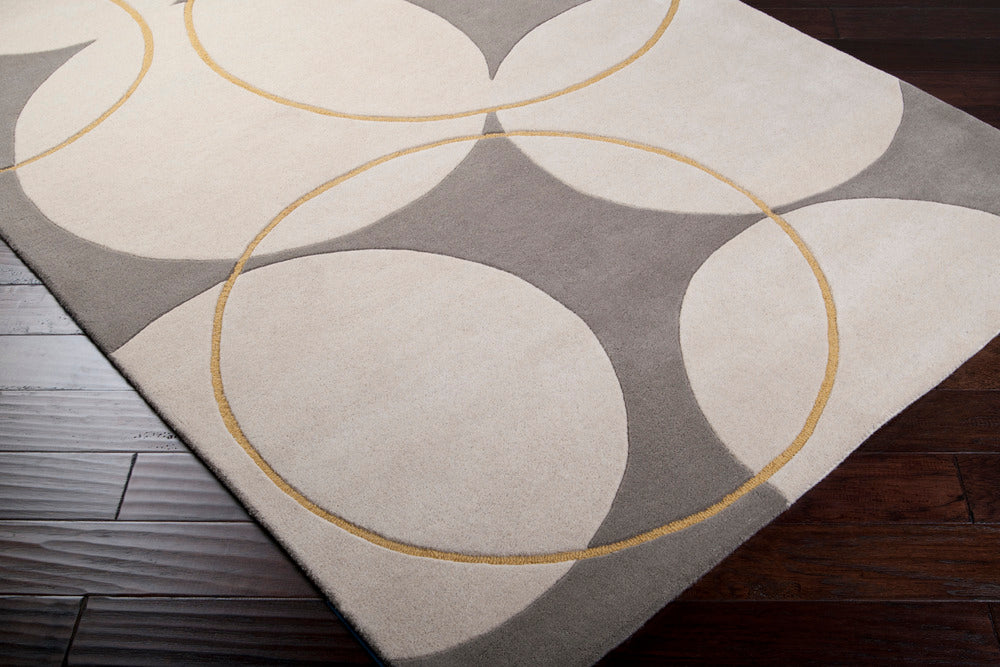 Surya Goa G5037 Brown/Yellow Contemporary Area Rug