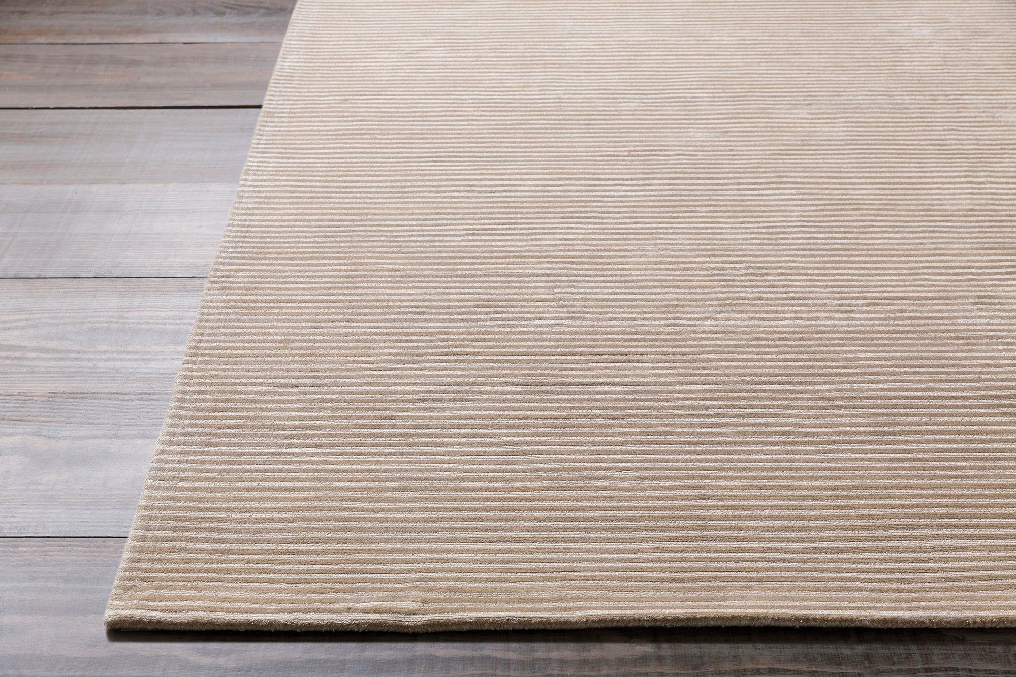 Surya Graphite GPH50 Neutral Solids and Borders Area Rug