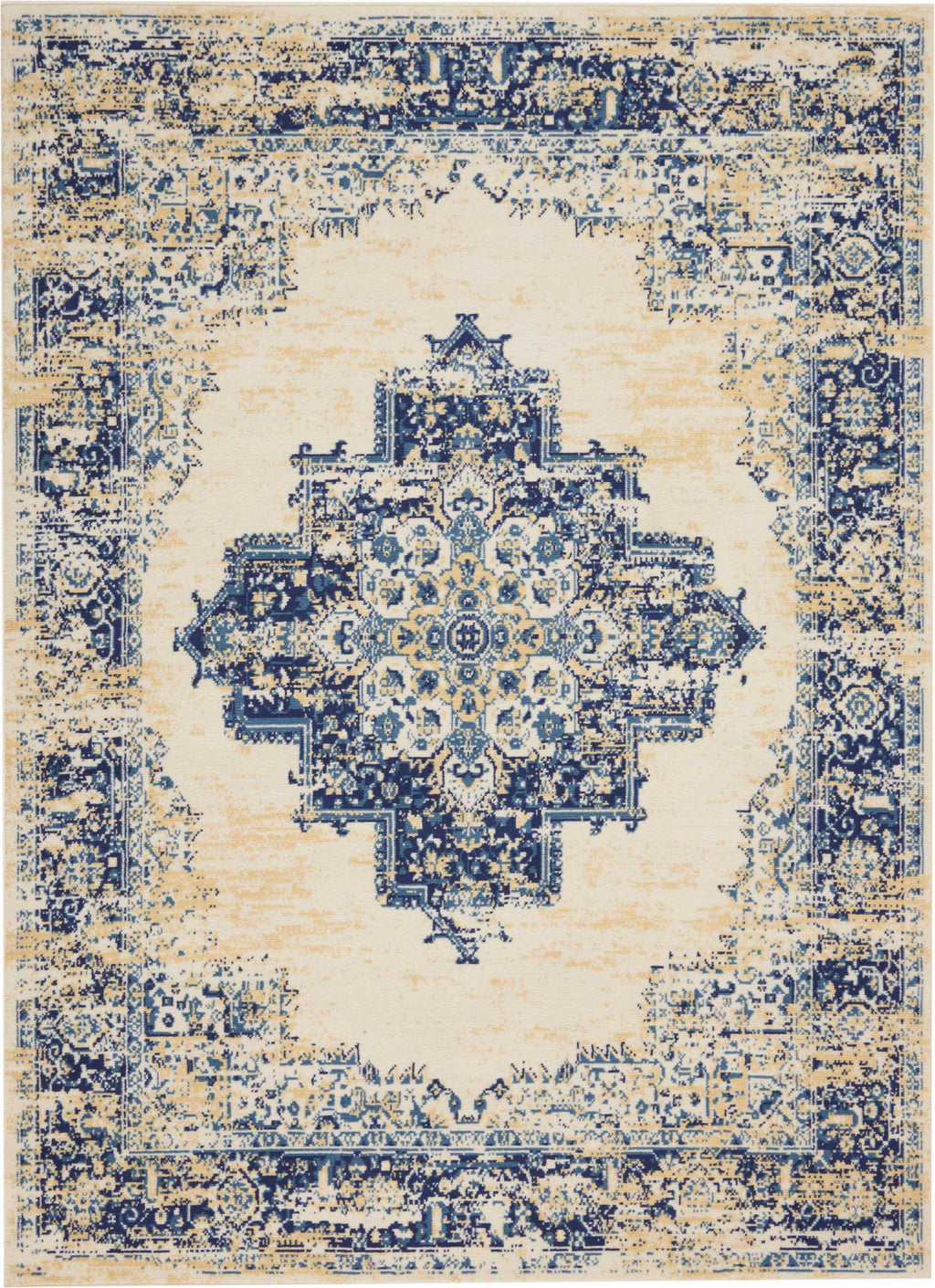 Nourison Grafix White Area Rug