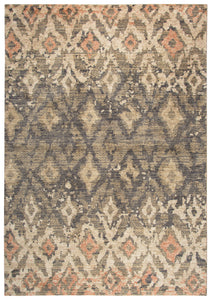 Rizzy Home Gossamer GS6795 Brown Ikat Area Rug
