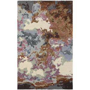 Oriental Weavers Galaxy Blue/Brown Abstract 21905 Area Rug