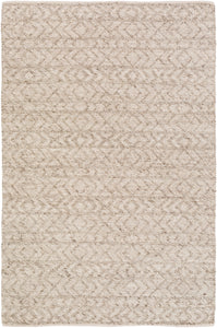 Surya Ingrid ING2004 White/Neutral Geometric Area Rug