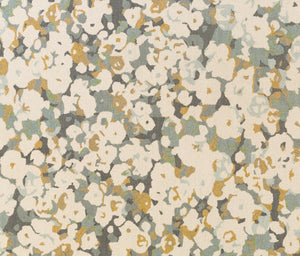 Surya Inman INM1000 Neutral/Grey Floral and Paisley Area Rug