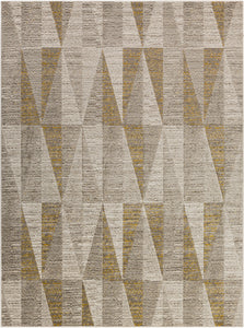 Surya Jax JAX5017 Grey/Yellow Modern Area Rug