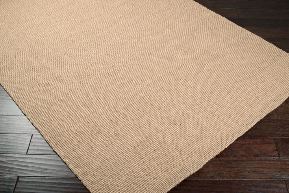 Surya Jute Woven JS13 Brown Natural Fiber and Texture Area Rug
