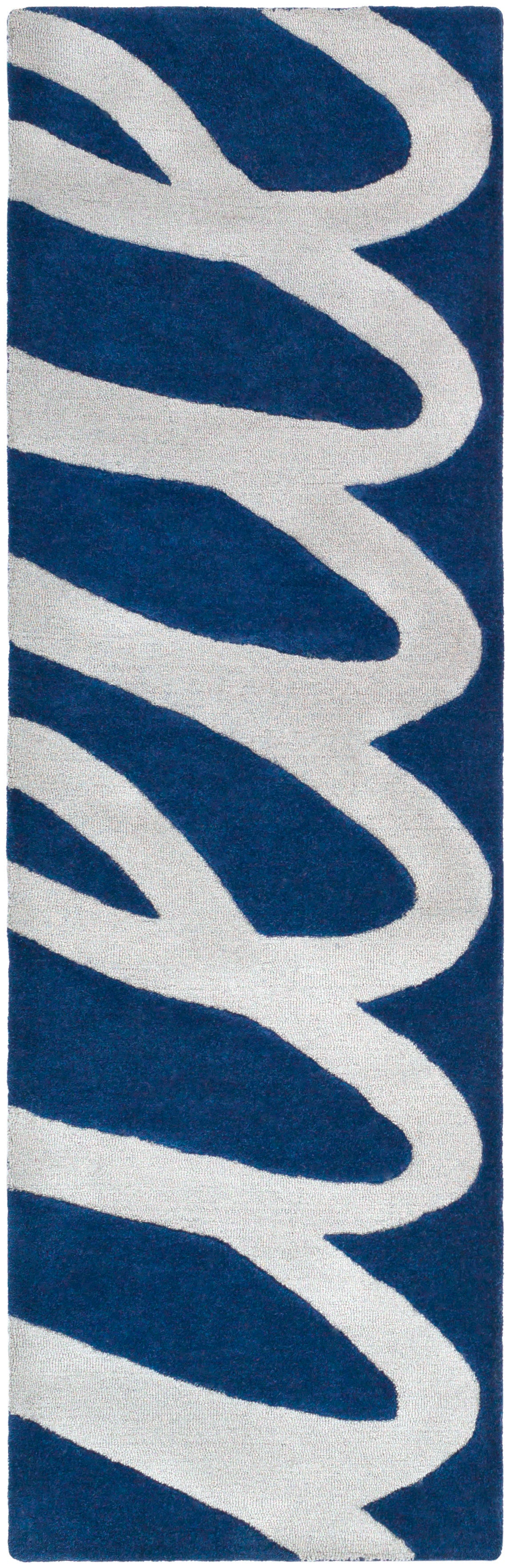 Surya Kennedy KDY3023 Grey/Blue Modern Area Rug