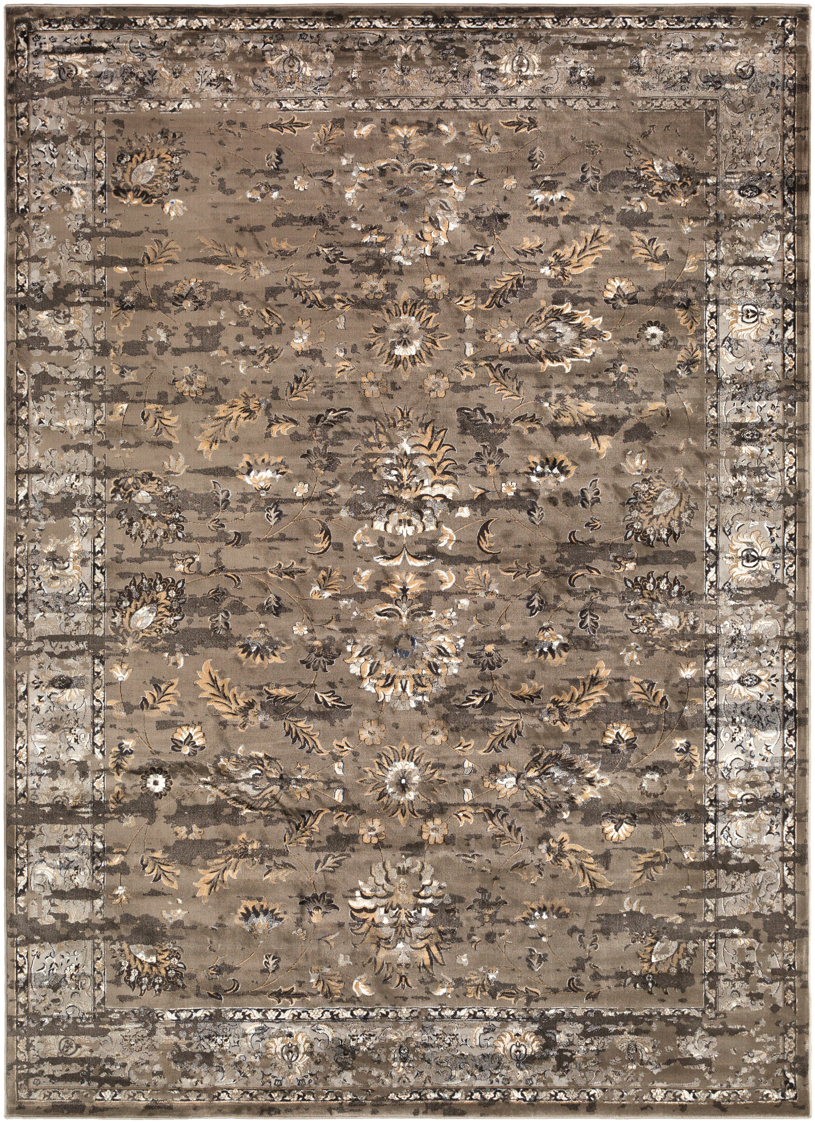 Surya Kaitlyn KTN1005 Brown/Grey Area Rug