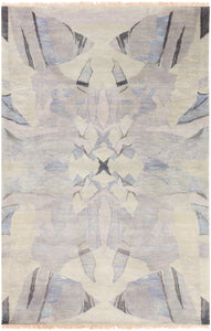 Surya Libra One LBO1004 White/Brown Modern Area Rug