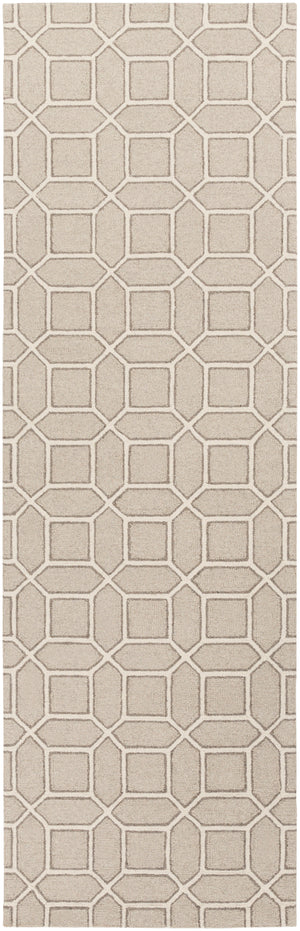 Surya Lucka LCK2000 Neutral Geometric Area Rug