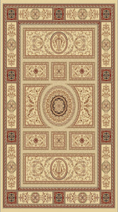 Dynamic Rugs Legacy Ivory Classic Rectangle Area Rug