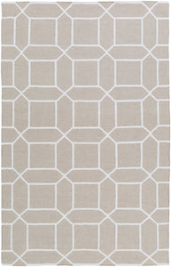 Surya Lagoon LGO2042 Neutral/White Outdoor Area Rug