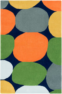 Surya Leap Frog LPF8008 Yellow/Grey Modern Area Rug