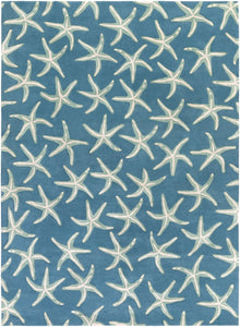 Surya Lighthouse LTH7006 Blue/Green Aquatic Area Rug