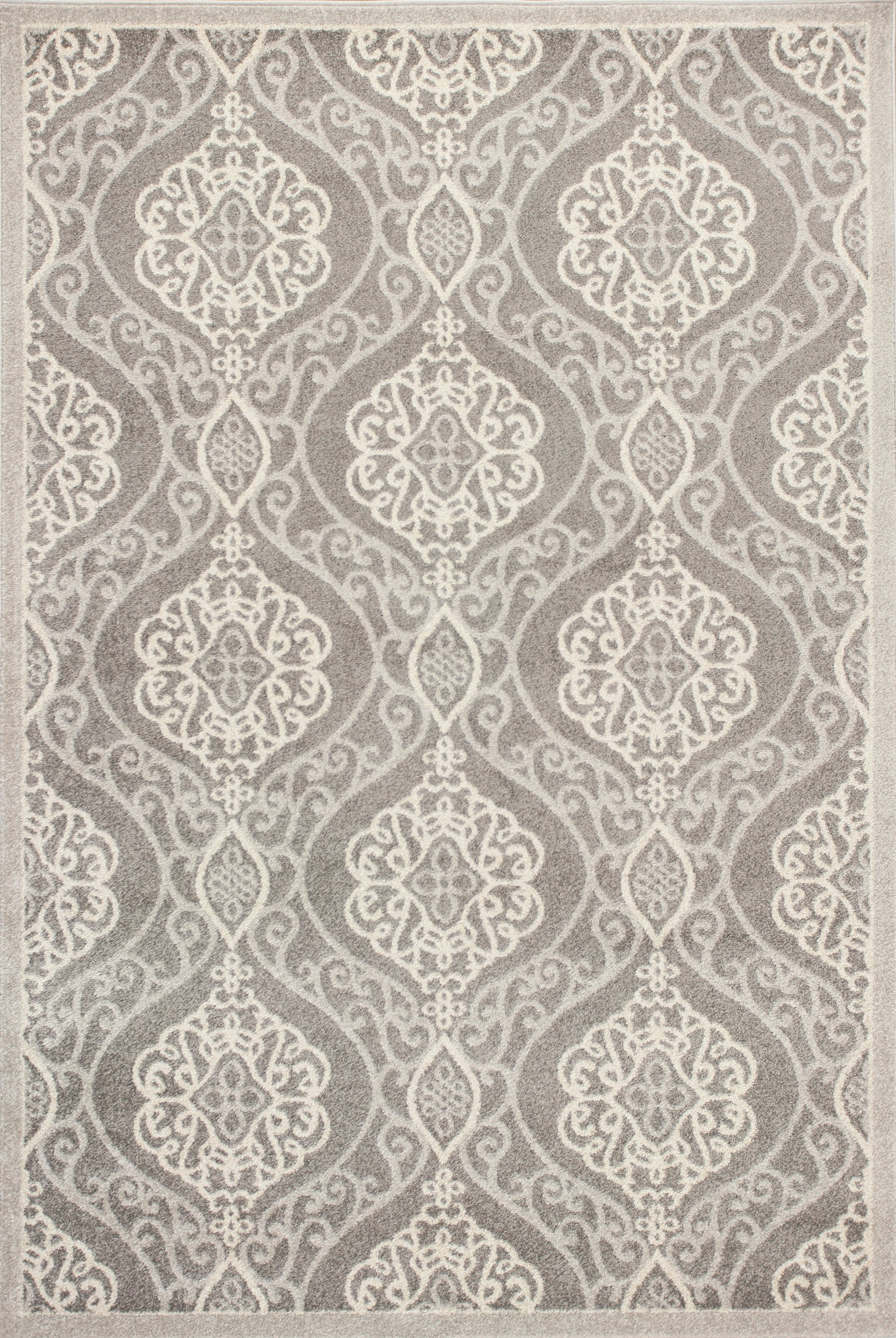 Kas Rugs Lucia 2759 Silver Mosaic Area Rug