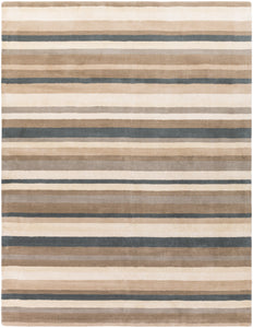 Surya Madison Square MDS1006 Brown/Grey Designer Area Rug