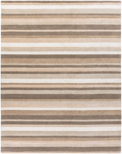 Surya Madison Square MDS1010 Grey/Neutral Designer Area Rug