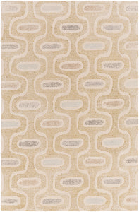 Surya Melody MDY2013 Neutral/Green Geometric Area Rug