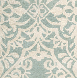 Rizzy Home Marianna Fields MF9444 Blue/Green Ornamental Area Rug