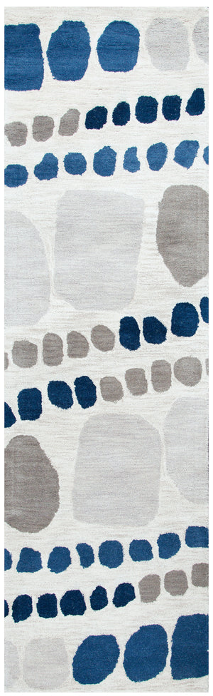 Rizzy Home Marianna Fields MF9523 Gray Abstract Area Rug
