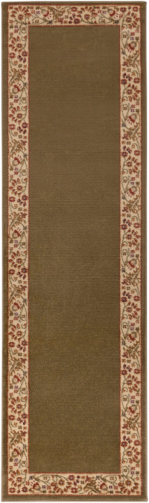 Surya Midtown MID4745 Brown/Red Transitional Area Rug