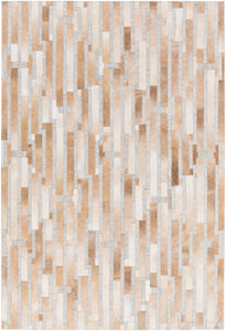 Surya Medora MOD1014 Brown/Neutral Hides and Leather Area Rug