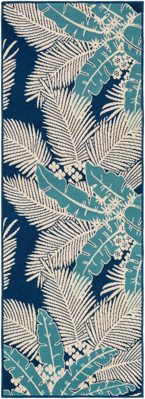 Surya Marina MRN3002 Blue/Neutral Outdoor Area Rug