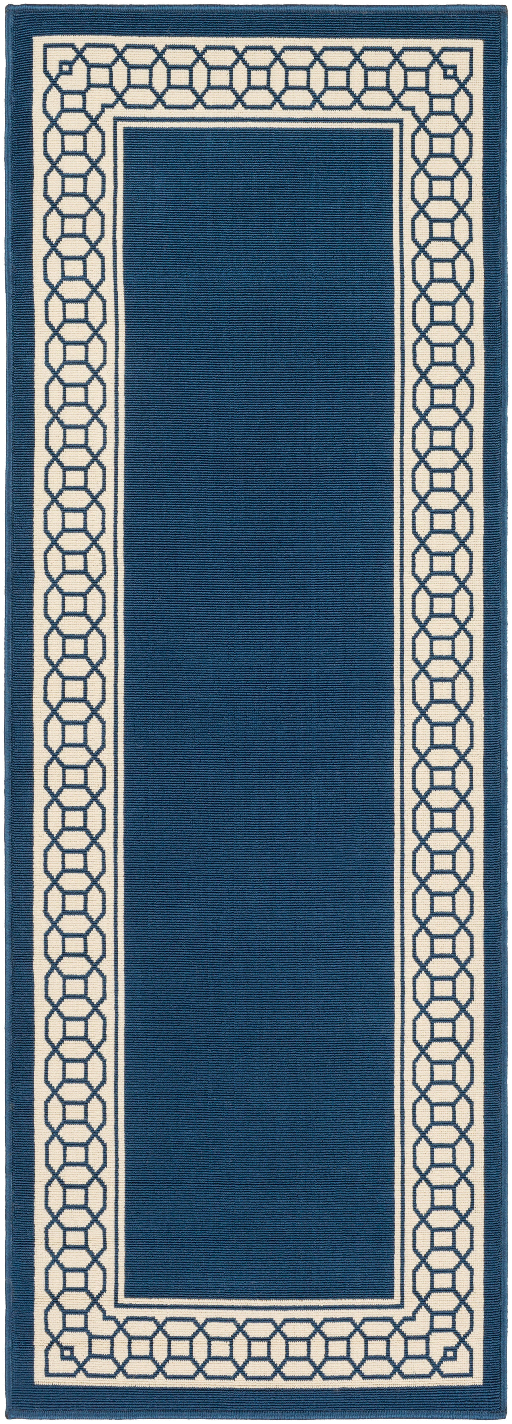 Surya Marina MRN3033 Blue/Neutral Outdoor Area Rug