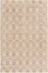 Surya Ridgewood RDW7009 Neutral/Brown Modern Area Rug