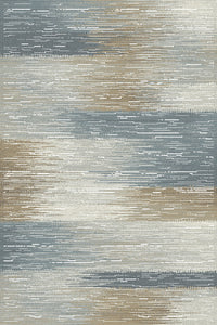 Dynamic Rugs Royal Treasure Soft Blue/Mocha Modern Rectangle Area Rug