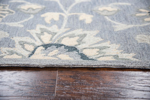 Rizzy Home Resonant RS915A Gray Floral Area Rug