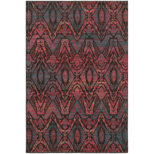 Oriental Weavers Revival Brown/Multi Abstract 5562F Area Rug