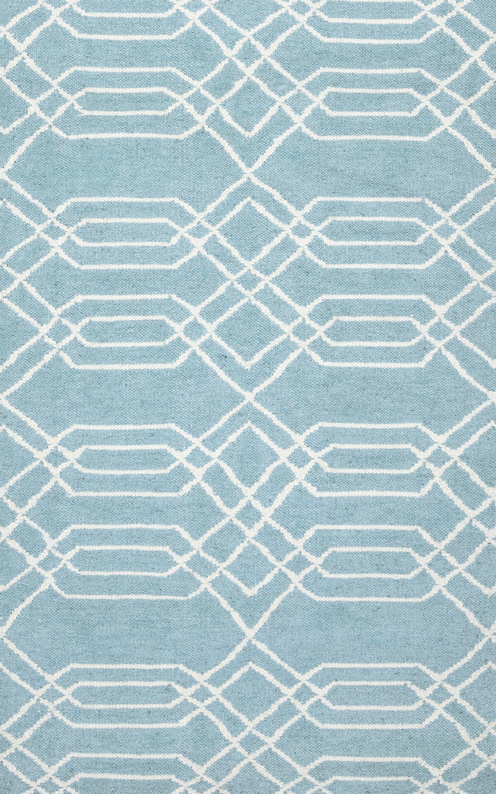 Rizzy Home Swing SG8159 Blue Trellis Area Rug