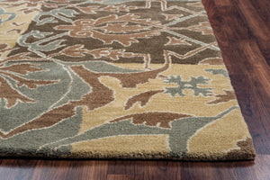 Rizzy Home Southwest SU8155 Multi-Colored Patchwork Area Rug