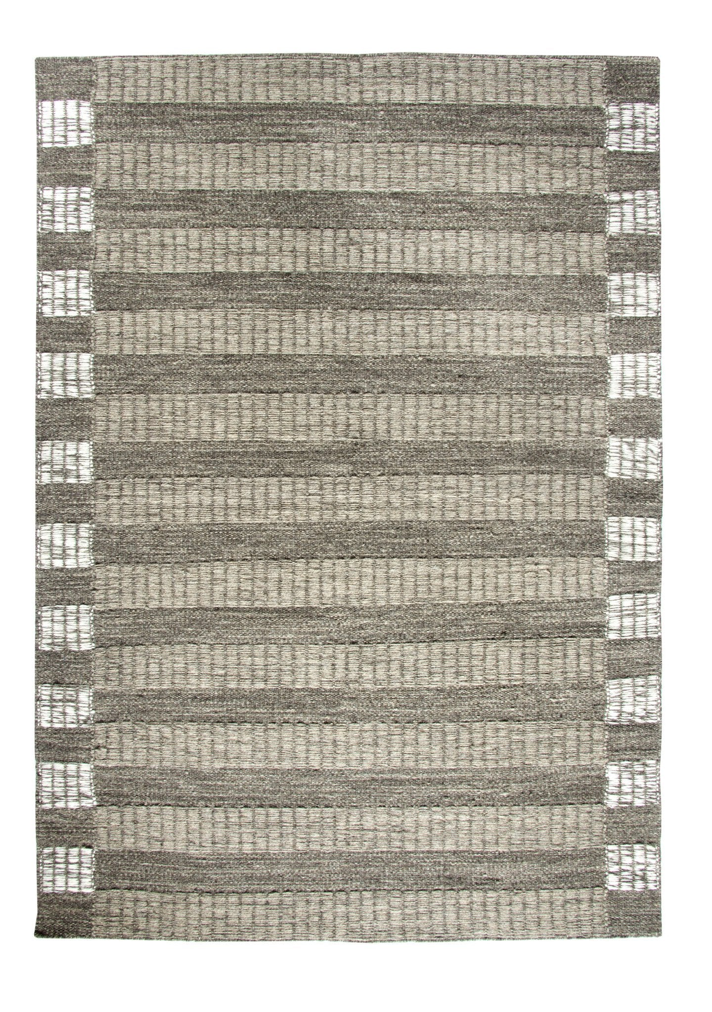Dynamic Rugs Topaz Natural/Grey Geometric Rectangle Area Rug