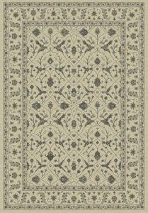 Dynamic Rugs Utopia Cream Distressed Rectangle Area Rug