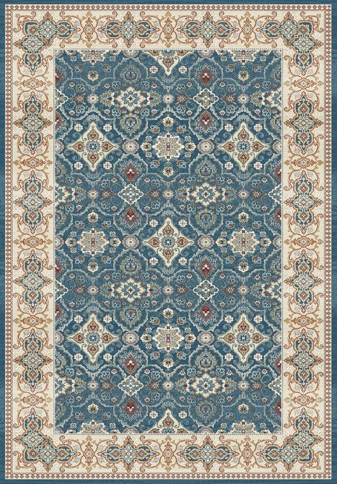 Dynamic Rugs Venice Dark Blue Distressed Rectangle Area Rug